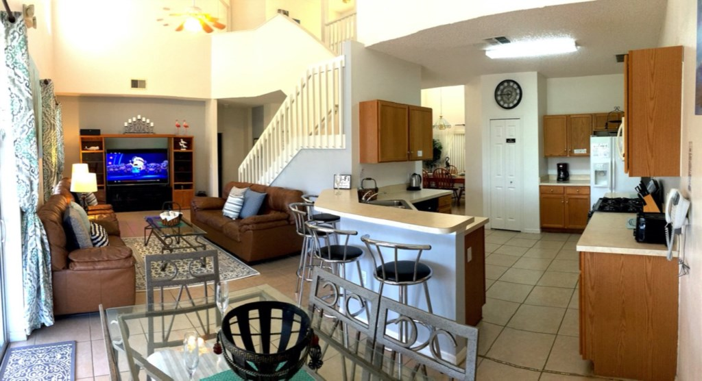 Beautiful open concept living ideal for entertaining.