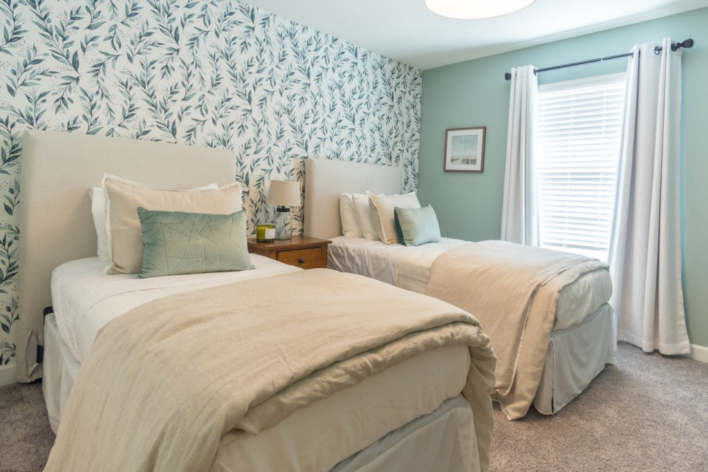 Cozy Guest Bedroom - 2 Twin bed