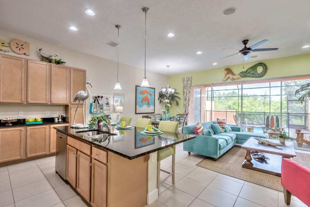 Kitchen / Main Area