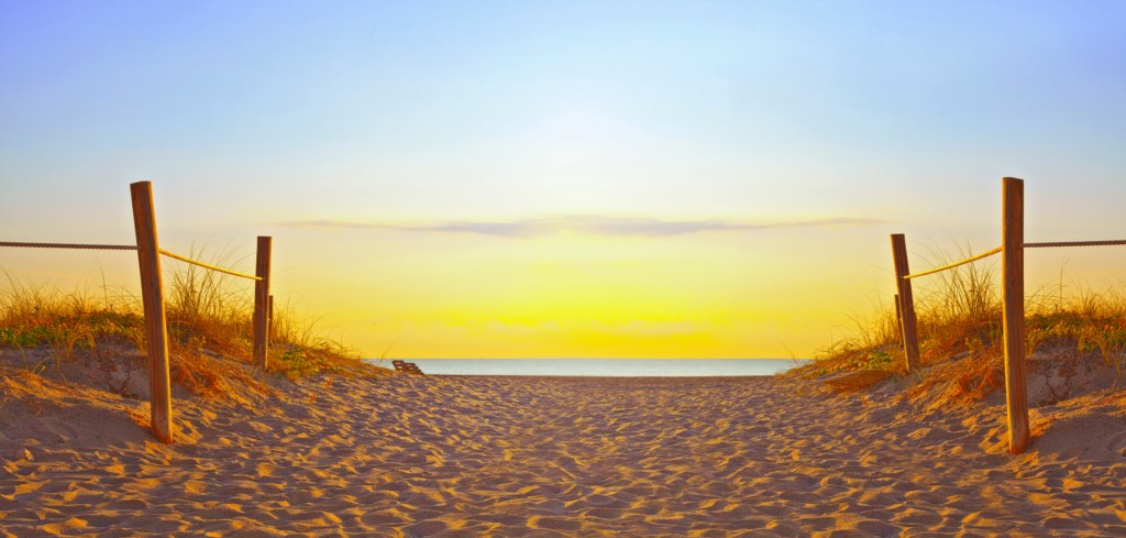 Make lasting memories on the Beach and take in the breathtaking Sunset