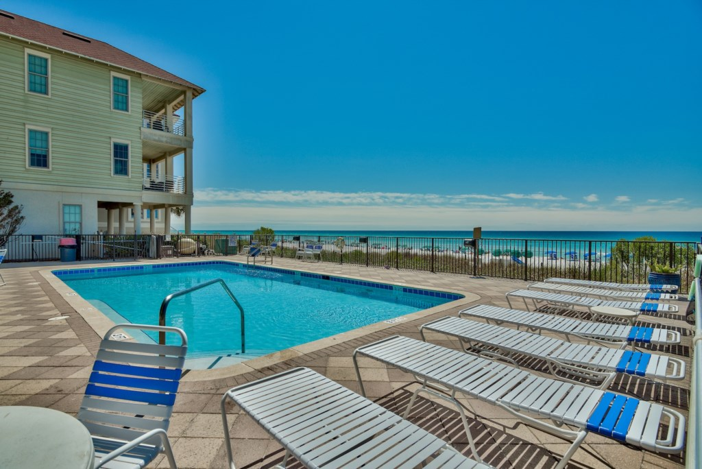 Soak in the sunshine or cool off in the Pool and enjoy the Ocean breeze