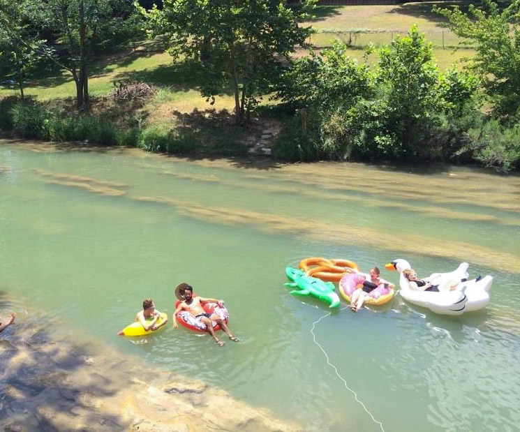 Relax and float on the Guadalupe River