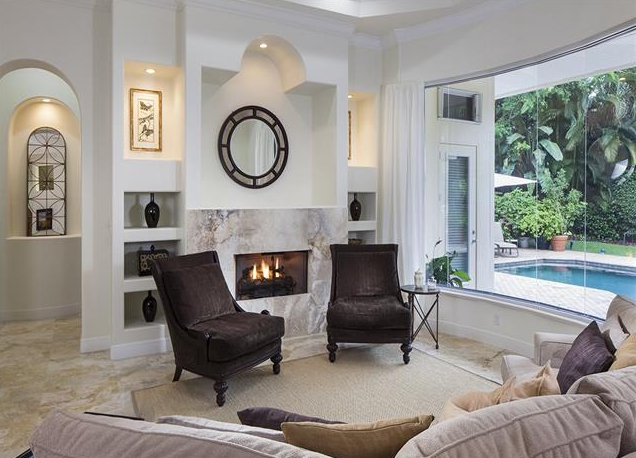 Relax Around the Fireplace