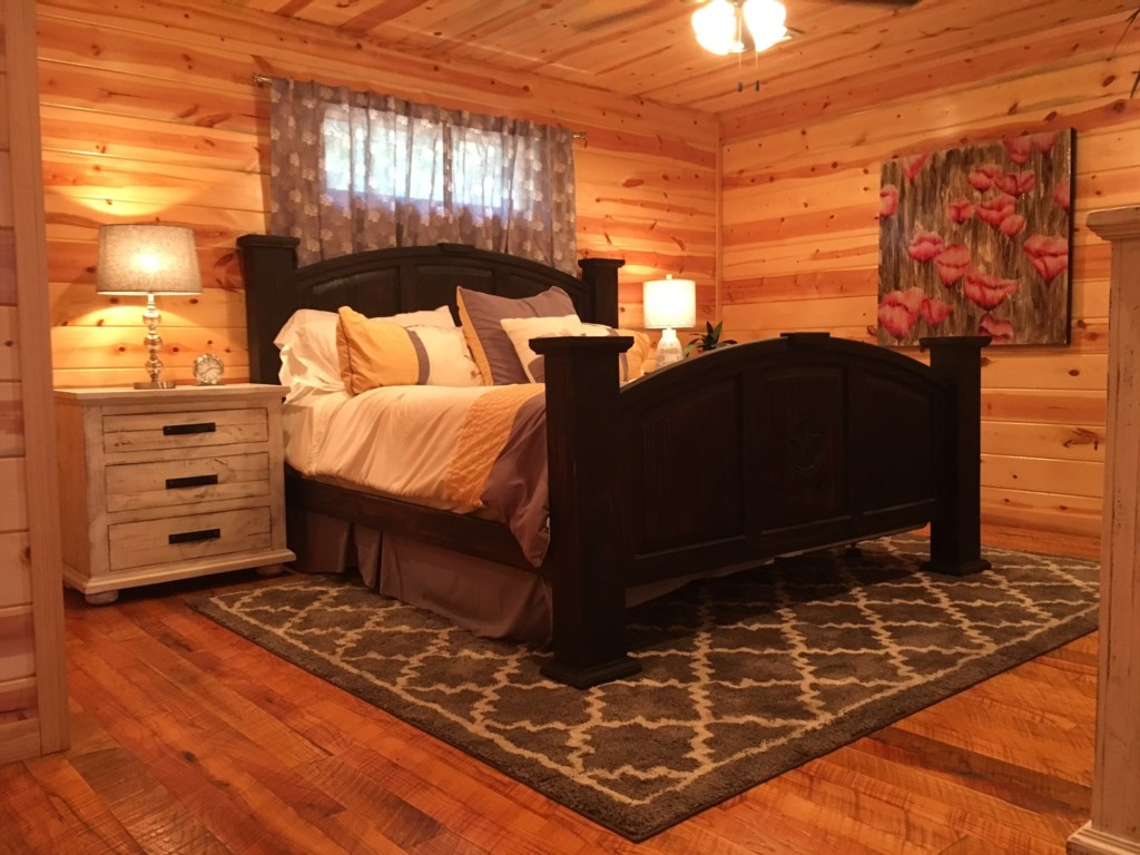 Shear Pleasure Cabin In Broken Bow