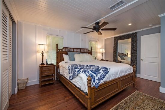 Pearl Beach House Master Bedroom