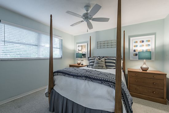 Bedroom at The Sand Dollar Beach House