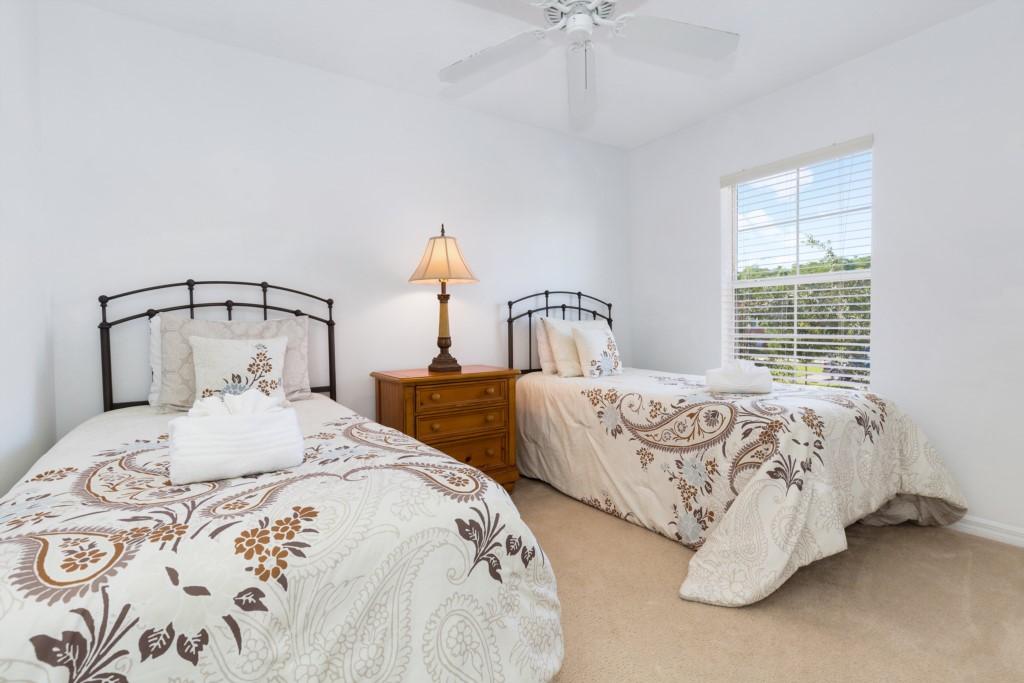 2nd Bedroom (2 Twins) 2nd Floor