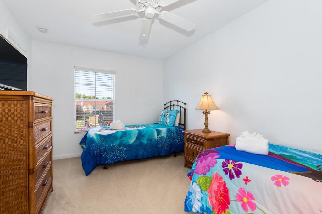 3rd Bedroom (2 Twins) 2nd Floor