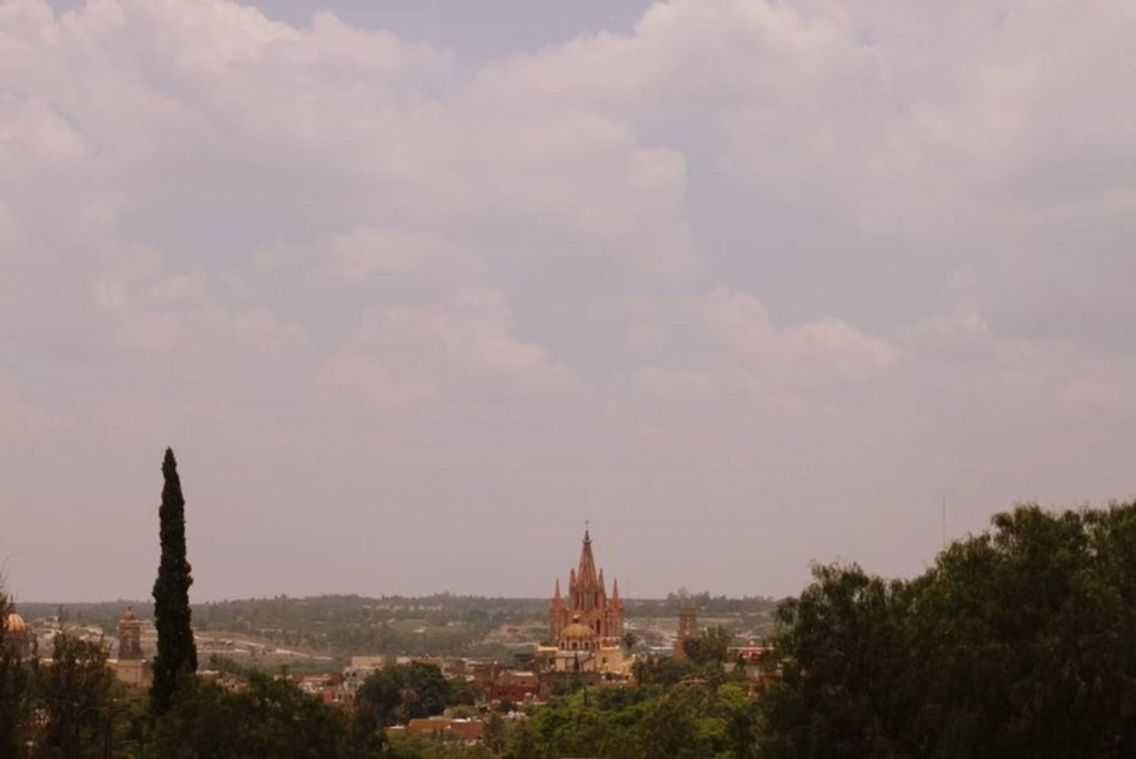 The Parroquia de San Miguel Archangel is just part of the amazing view from the roof!