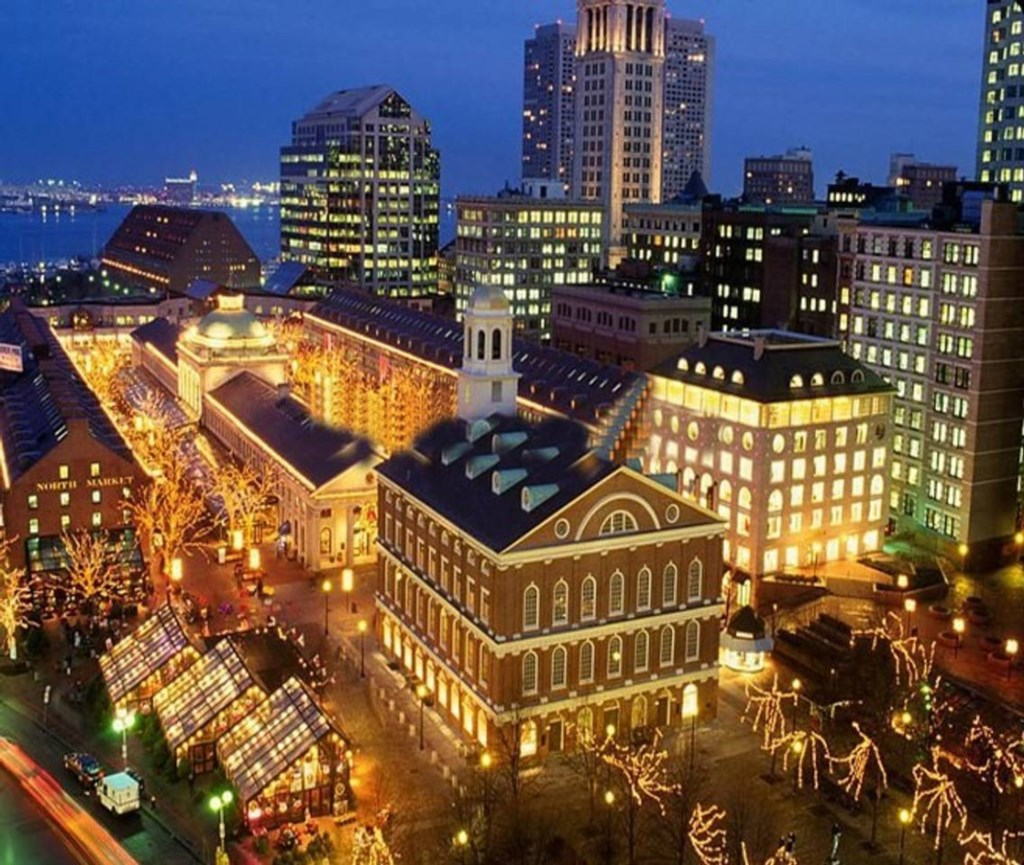 Historic Faneuil Hall Marketplace is loaded with history and great shopping.