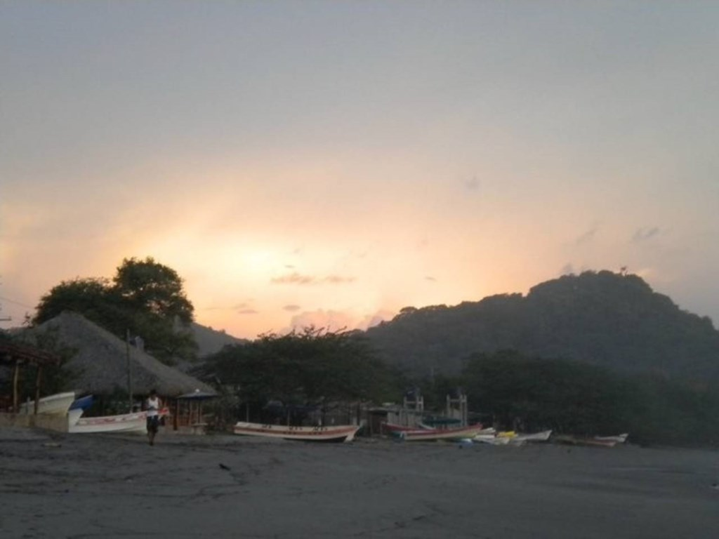 Gigante at dusk
