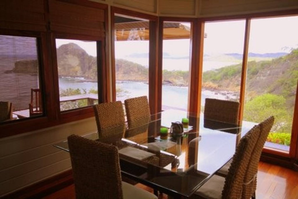 Dine in sight of the most unbelievable view