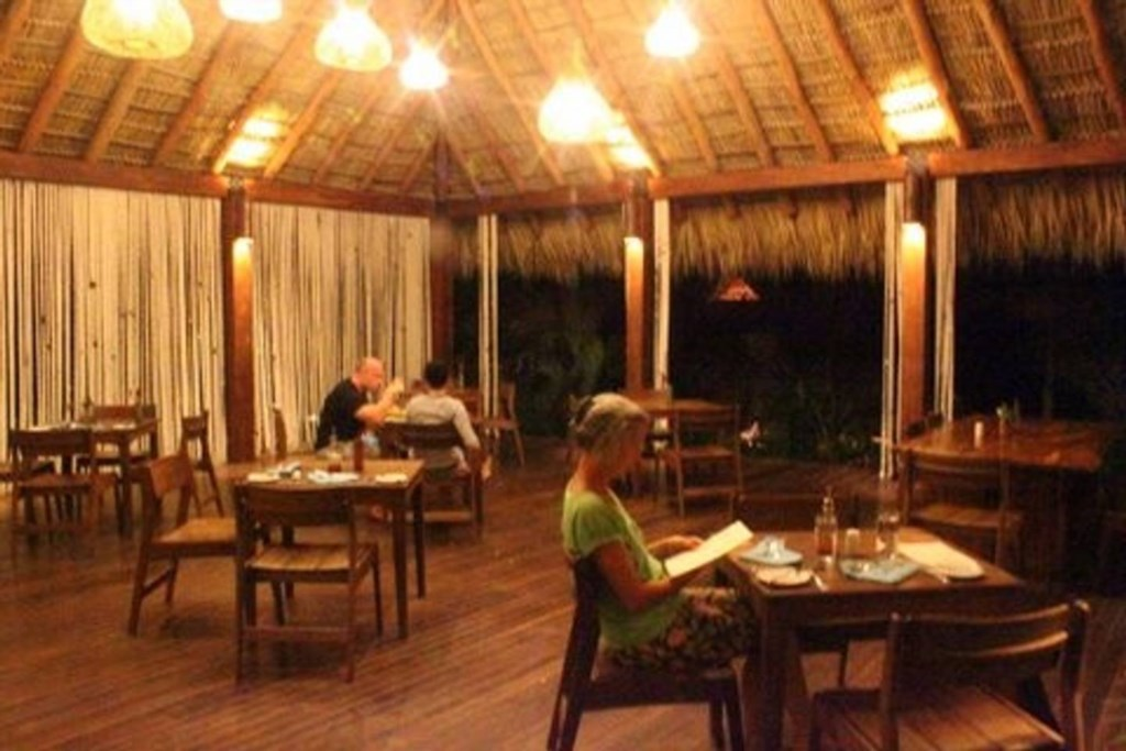 The restaurant at Redonda Bay