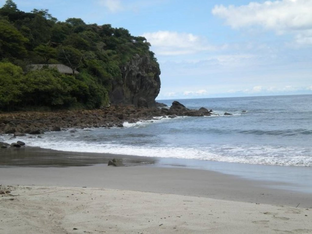 Playa Redonda, the development's private beach is just a short walk down the hill from the house