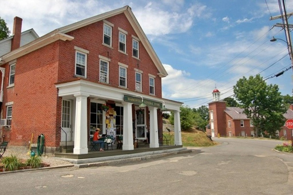 Enjoy a beautiful afternoon in downtown Harrisville