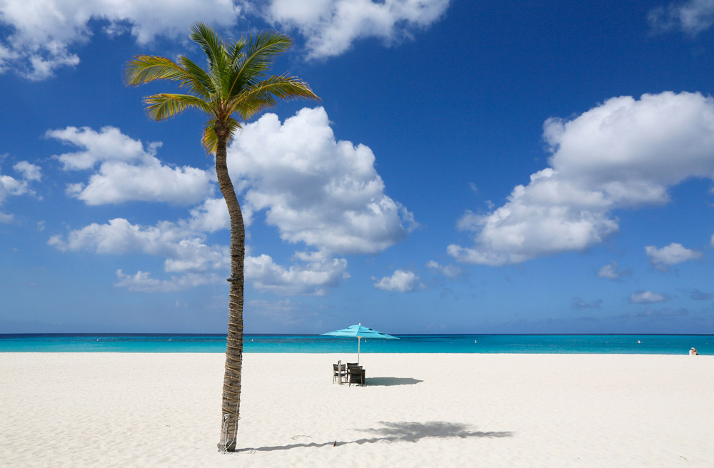 World's famous Eagle Beach