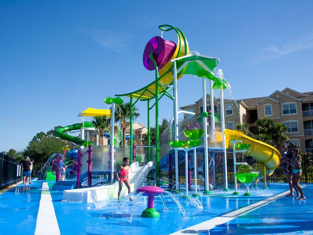 Resort style kids waterpark