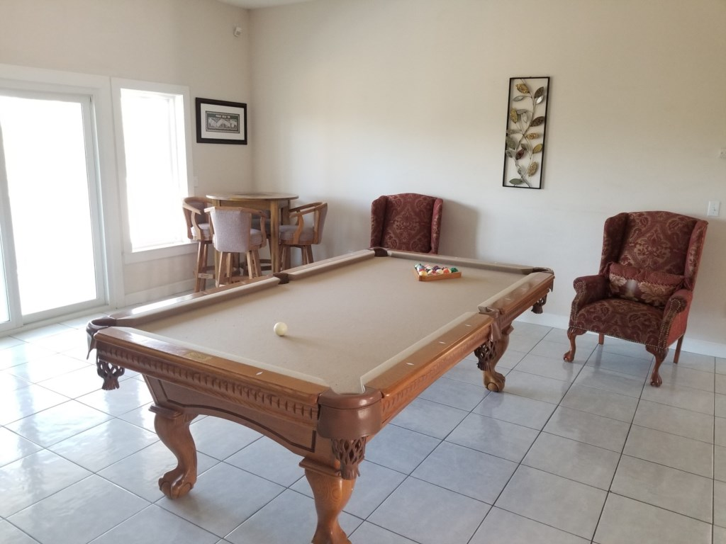 Game Room - Pool Table
