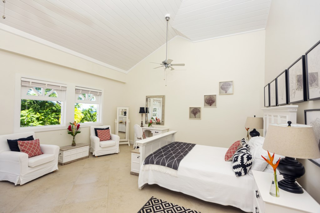 Fourth bedroom with queen bed.