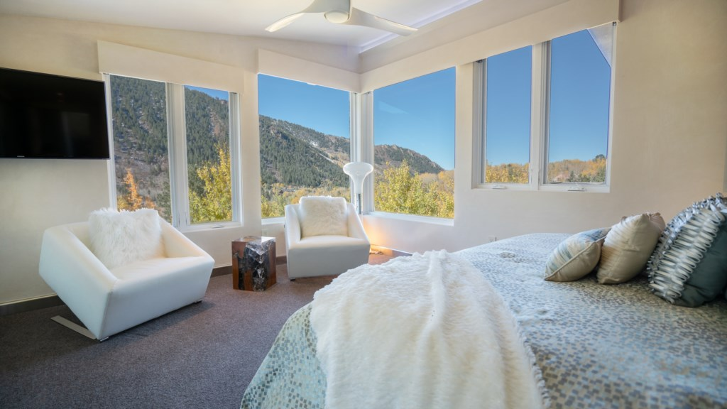 Master Bedroom W/ Mountain Views