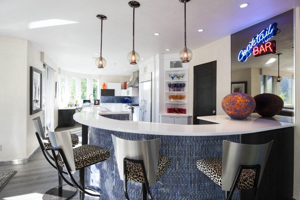 Bar in Living Room