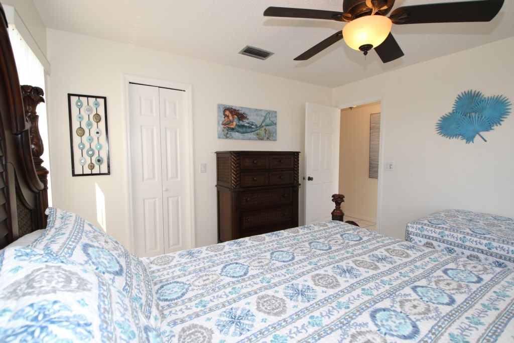 Second Bedroom-Queen And Twin Beds