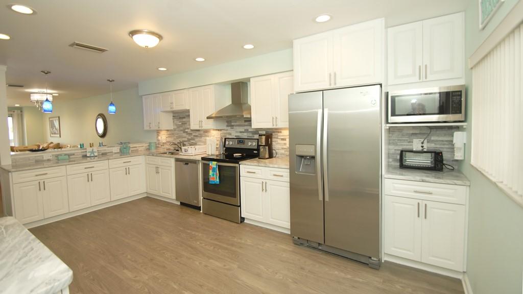 Stunning new designer kitchen