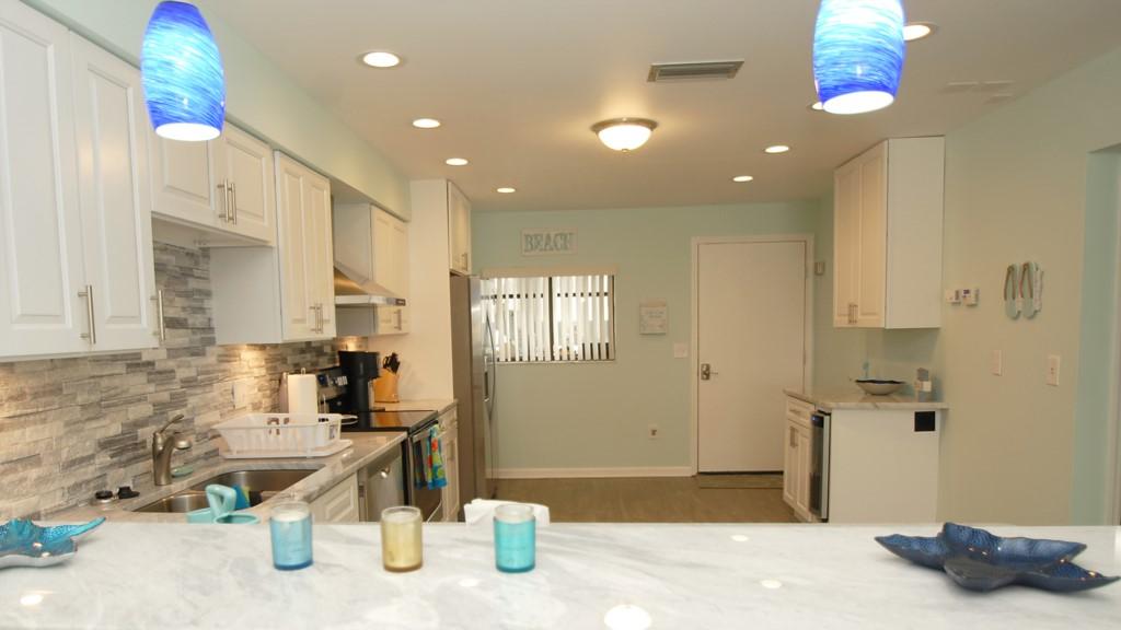 Contemporary designed kitchen