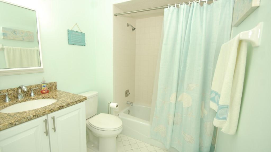 Second washroom