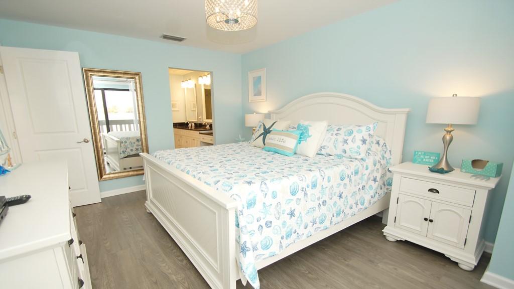 Master bedroom and new en-suite washroom