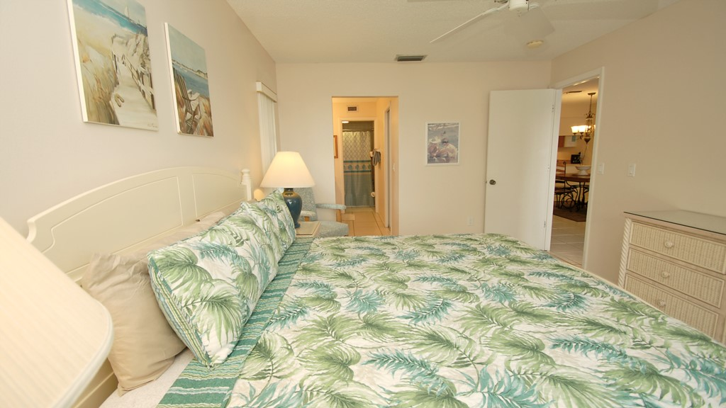 King size master bedroom suite