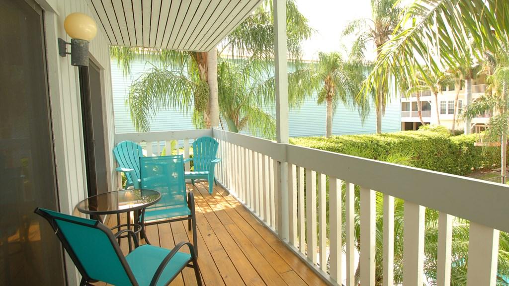 Anna Maria Island Condo - Private Balcony