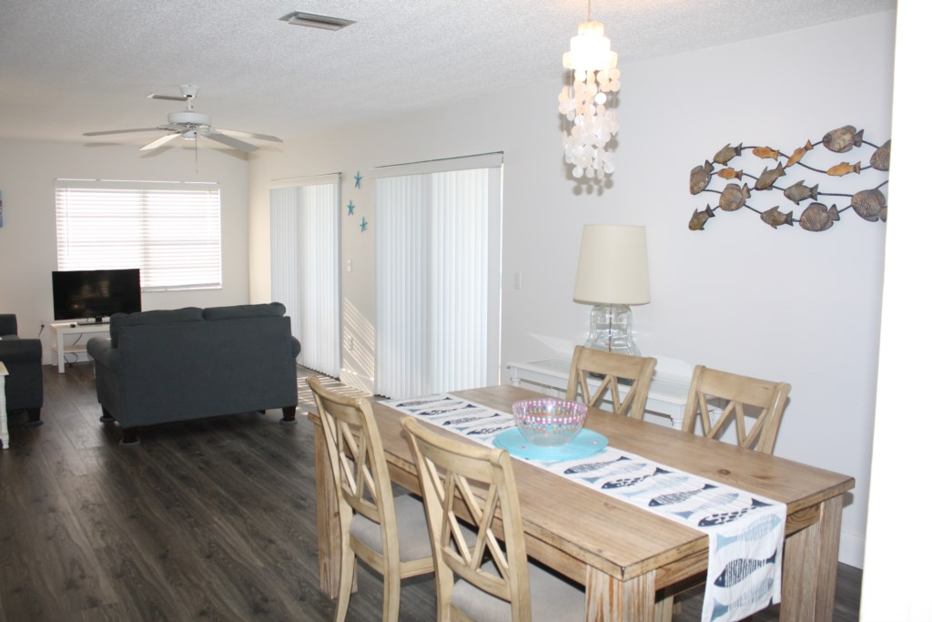 Anna Maria Island Condo - Dining Room - Living Room - Private Balcony