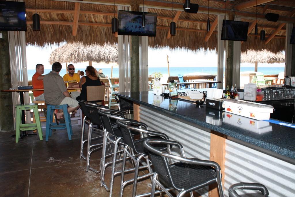 Sports bars on the beach