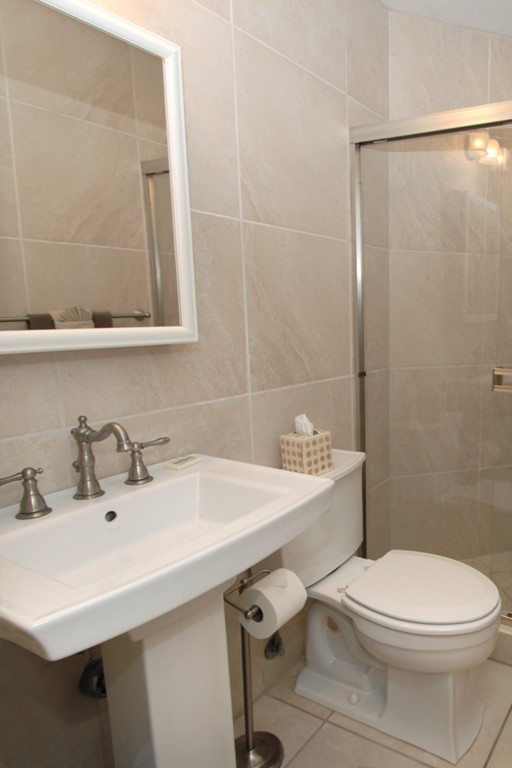 Second washroom and walk in shower