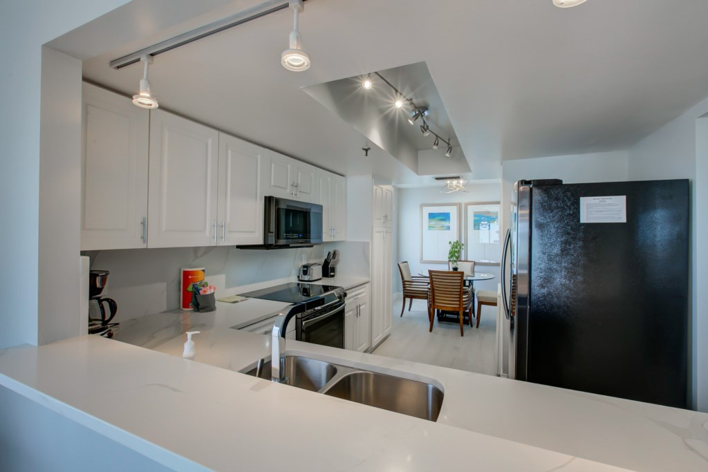 New Designer Kitchen-New Appliances-Quartz Counter Tops And Back Splash