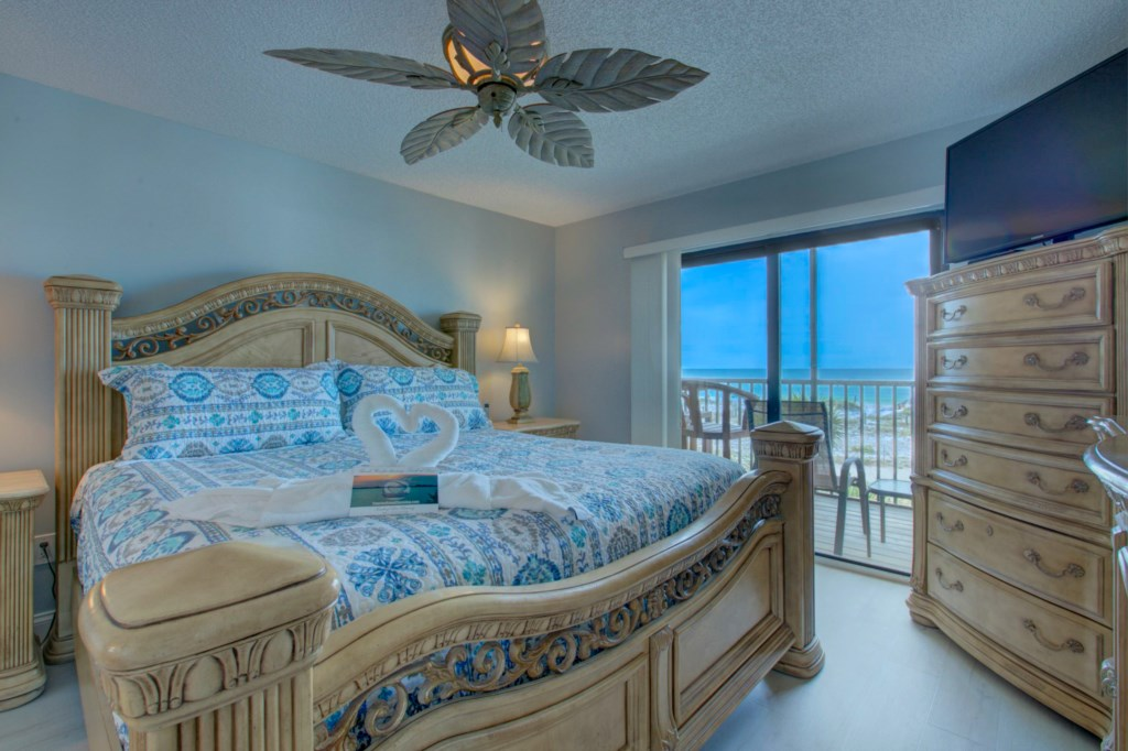 Master Bedroom-West Balcony-Gulf Of Mexico