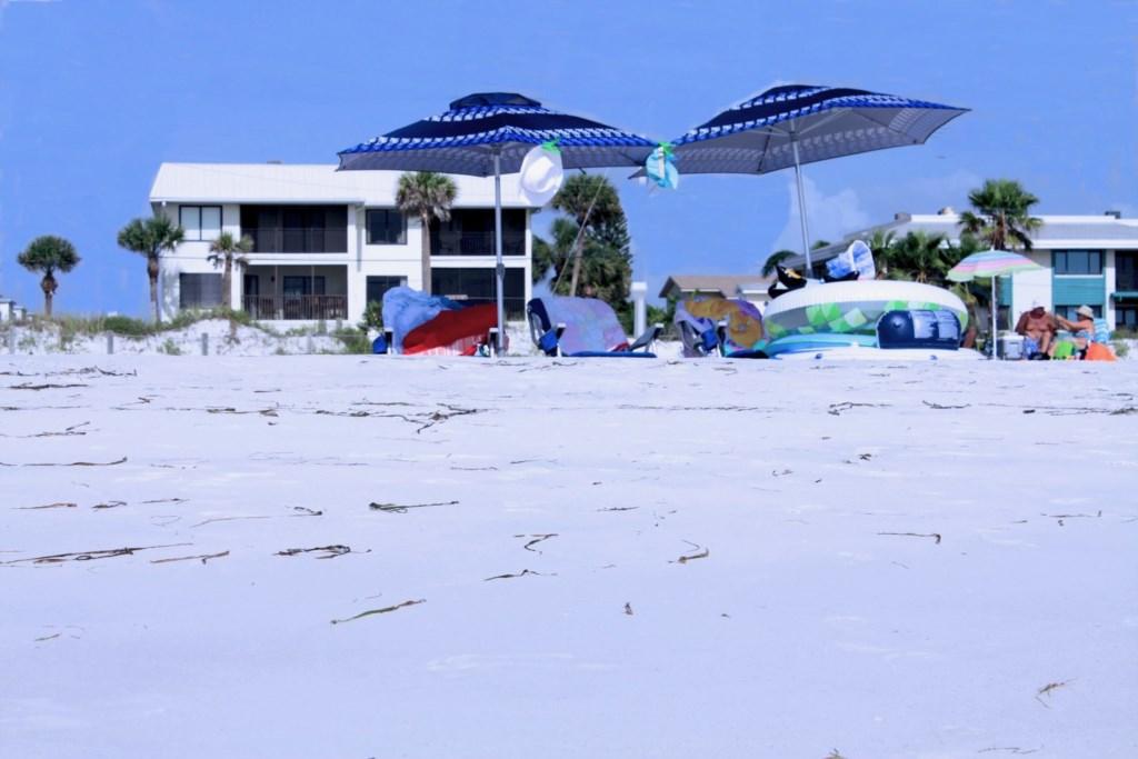 The Anna Maria Island Beach Sands Is The Bottom Left Condo