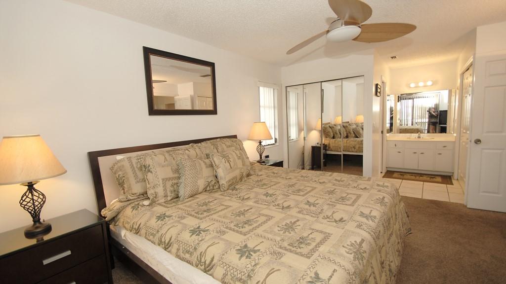 Master bedroom and en-suite washroom