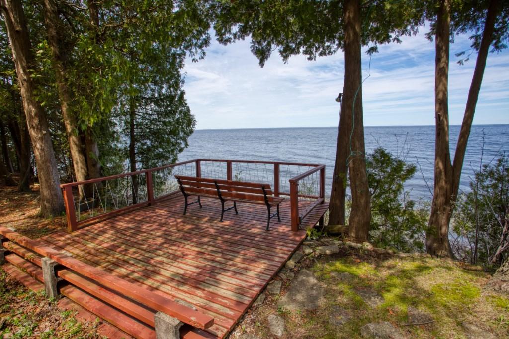 Deck overlooking Bay