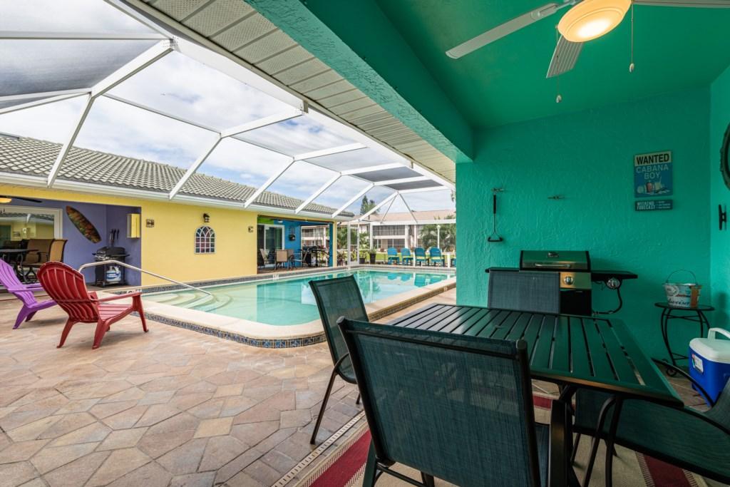 Enjoy a Meal Poolside