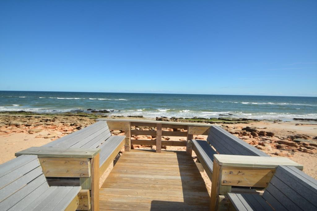 Beachside Seating Area