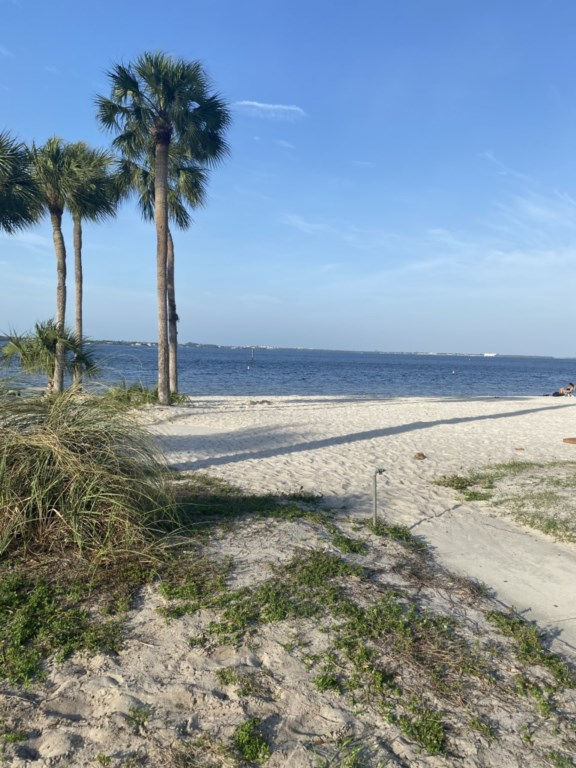 Yacht Club local beach is less than 3 miles away from the Sandy Cabana!