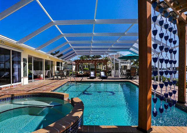 Extra pool parimeter fence available per request for a small fee