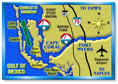 Cape Coral is right in the middle of it all