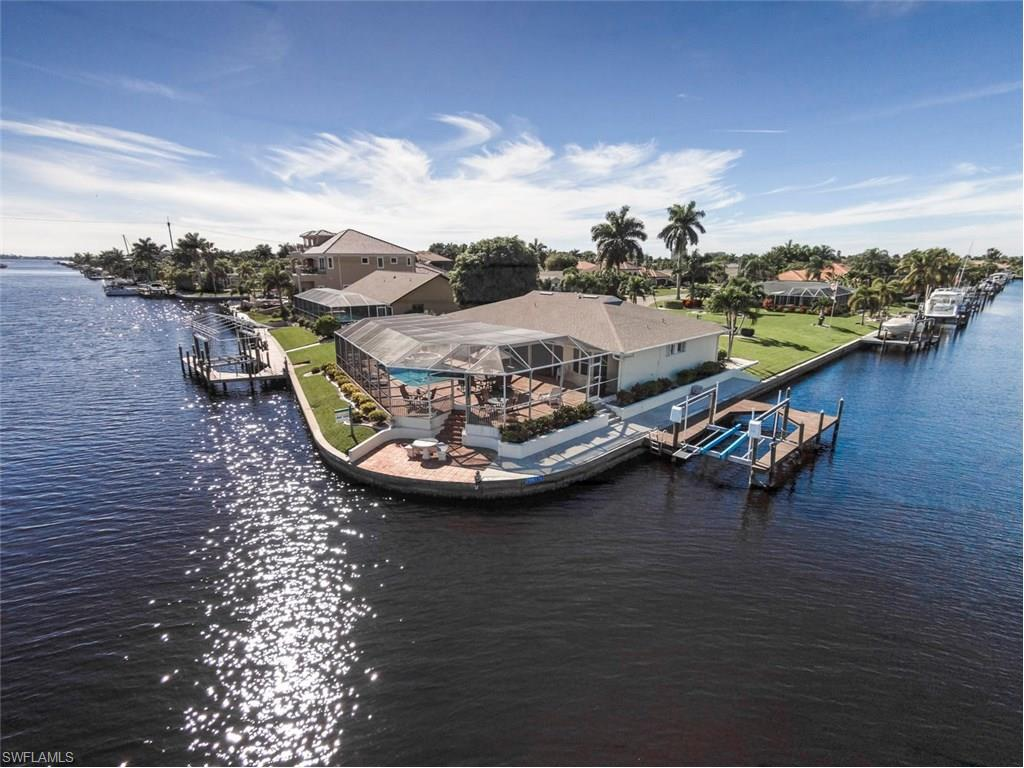 Large corner lot with tons of great water views