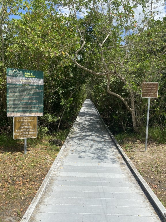 Rotary Park -  Nature trails, flower gardens and wildlife observation towers