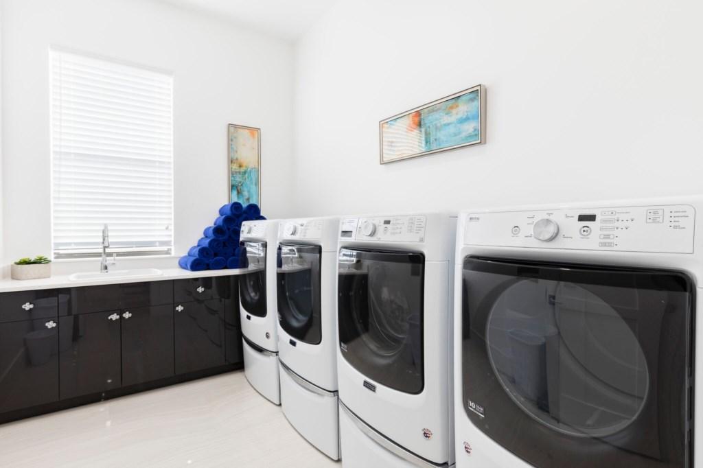 LaundryRoom_preview.jpeg 751 Golden Bear Reunion Resort Vacation Homes by Walt Disney World Florida.
