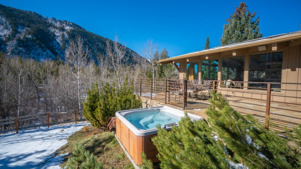 Exterior Deck, Fenced Yard, & Hot Tub