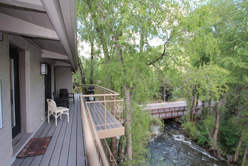 Deck Over Roaring Fork River